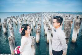 Album cưới lung linh của cô dâu du học sinh Úc