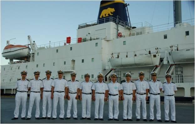 Sinh viên trường đại học Hàng hải Quốc gia Hàn Quốc