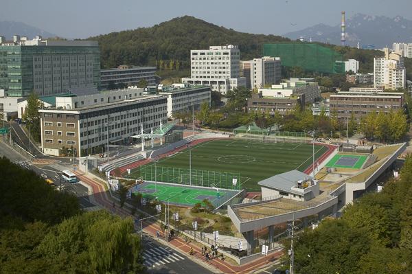 Khu Campus trường đại học Induk Hàn Quốc