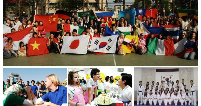Cuộc sống du học Hàn Quốc được giao lưu với sinh viên quốc tế