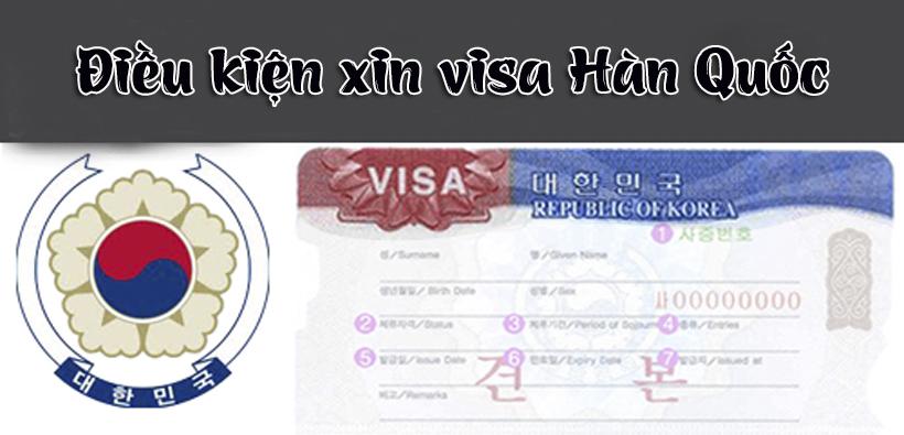 Điều kiện xin visa Hàn Quốc 2017