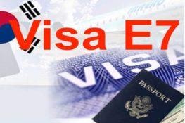 Lao động Hàn Quốc và những điều cần biết về visa E7, E9 Hàn Quốc