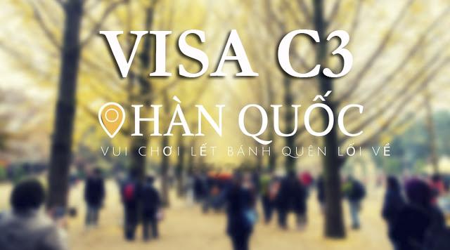 Visa c3 Hàn Quốc - Chơi thả ga, vui hết mình