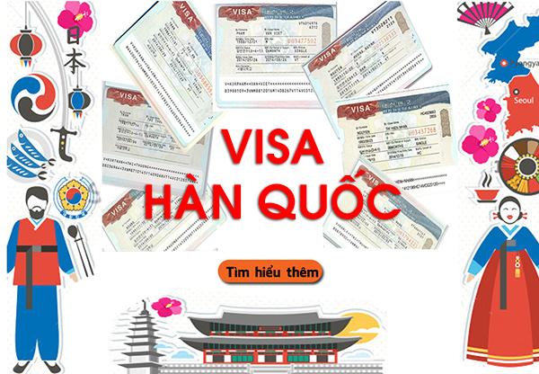 Các loại visa Hàn Quốc   Visa Hàn Quốc có mấy loại?