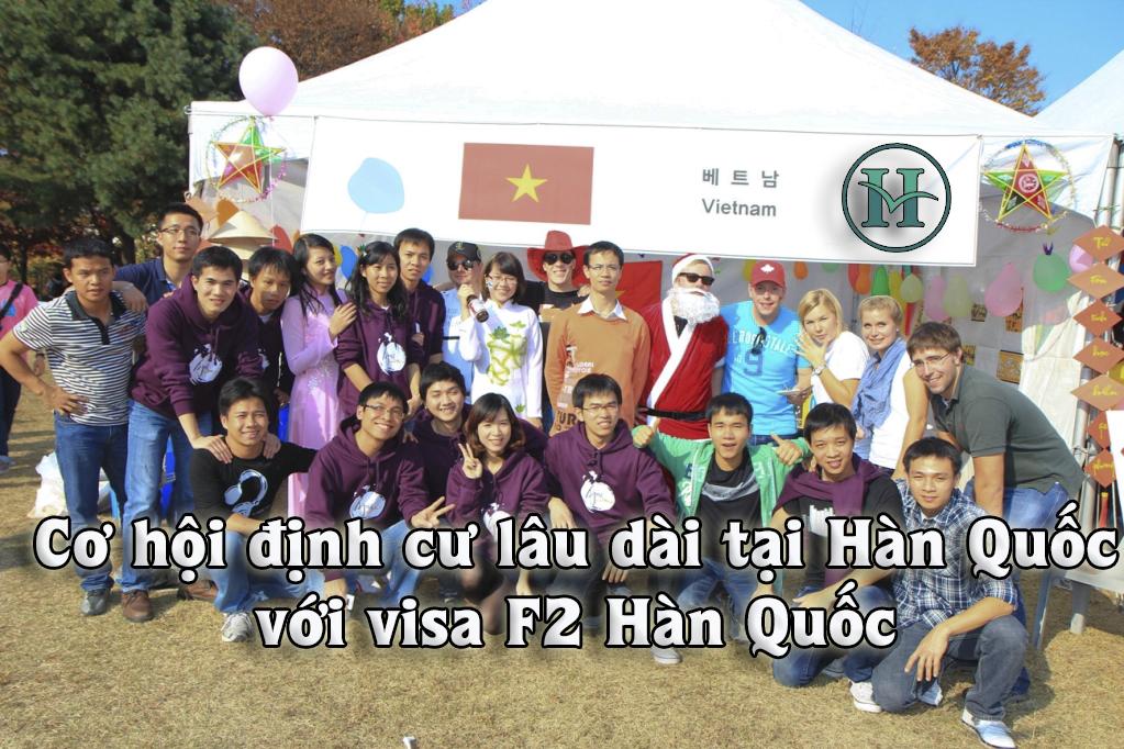 Visa F2 Hàn Quốc - Cơ hội định cư lâu dài
