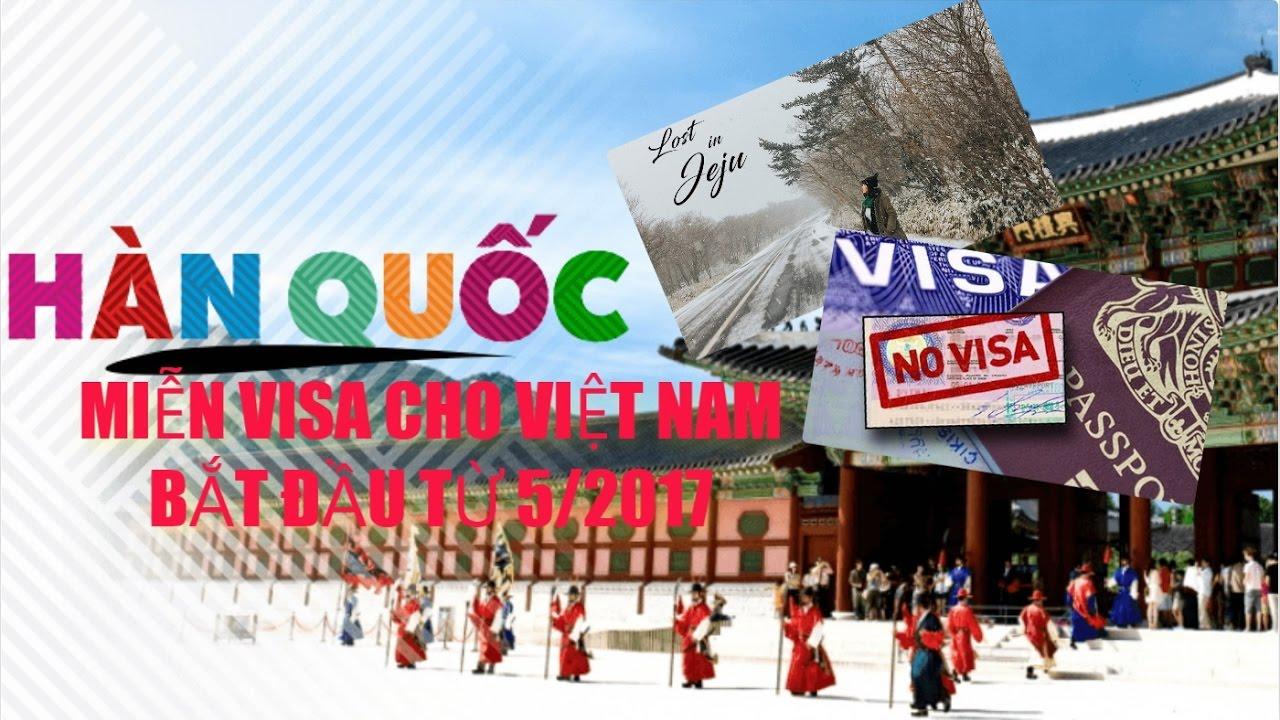 Hàn Quốc miễn visa cho Việt Nam