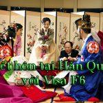 Kết hôn tại Hàn Quốc với visa F6 Hàn Quốc