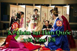 Kết hôn tại Hàn Quốc với visa F6