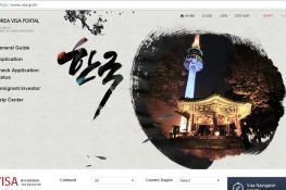 Các bước làm hồ sơ xin visa Hàn Quốc online