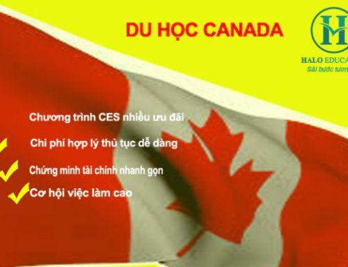 Du học Canada năm 2018