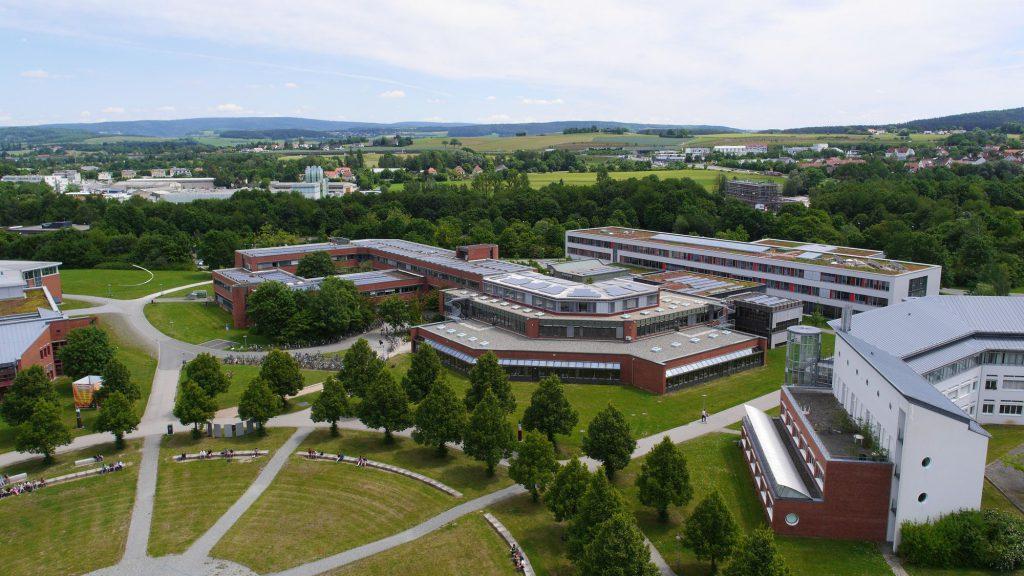 Khuôn viên trường đại học Bayreuth