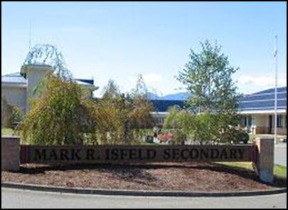 Trường trung họcMark R. Isfeld