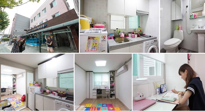 Phòng ở của du học sinh tại Hàn Quốc