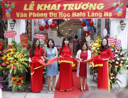 Công ty CP Tập Đoàn Giáo Dục HALO – Khai trương văn phòng Láng Hạ