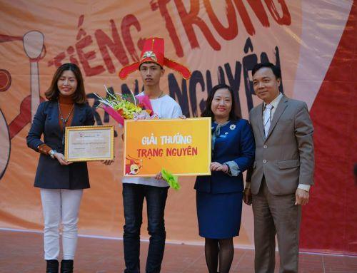 TTTN THPT Cao Bá Quát – Vinh danh tân trạng nguyên Em Nguyễn Tiến Đàn