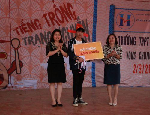 """""""Tiếng Trống Trạng Nguyên – THPT Văn Giang 2019"""" – Vỡ òa cảm xúc vòng chung khảo"""