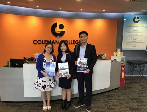 Chương trình ôn thi vào trường công cấp 1 của Coleman college