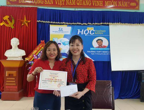 TALKSHOW định hướng tương lai và trao quỹ khuyến học tại THPT Nghi Lộc 2
