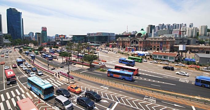 Một góc giao thông tại Hàn Quốc (DU HỌC HÀN QUỐC 2019)