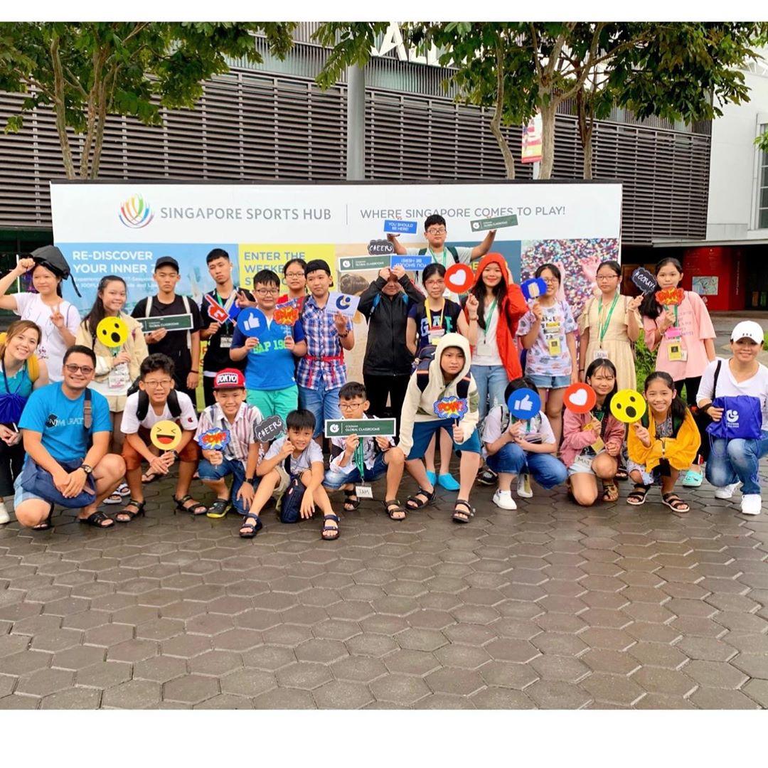 Học sinh trải nghiệm hè tại trường Coleman College Singapore