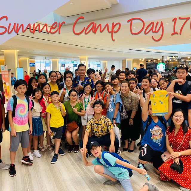 Học sinh Coleman College Singapore Summer Camp Days 17