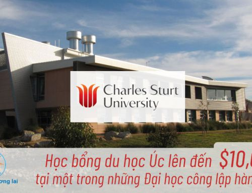Học bổng du học Úc lên đến $10,000 tại một trong những Đại học công lập hàng đầu!