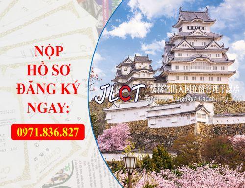 Thông báo nhận hồ sơ thi năng lực tiếng Nhật JLCT tháng 1/2020