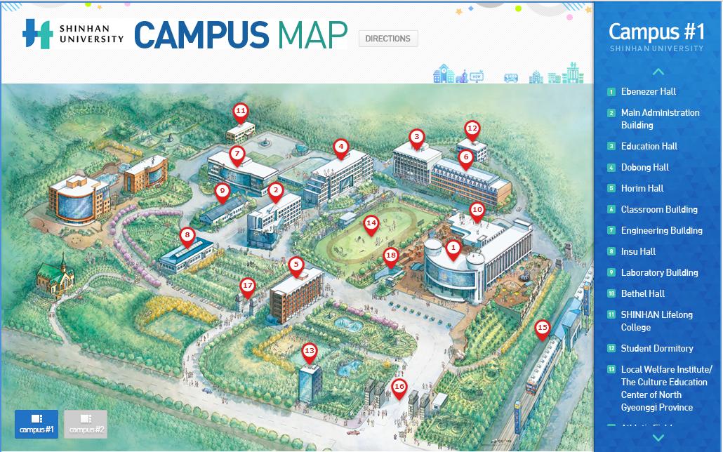 Campus-dai-hoc-shinhan-han-quoc