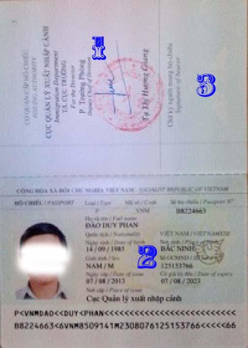 Kiểm tra hộ chiếu đi du học Hàn Quốc khi nhận