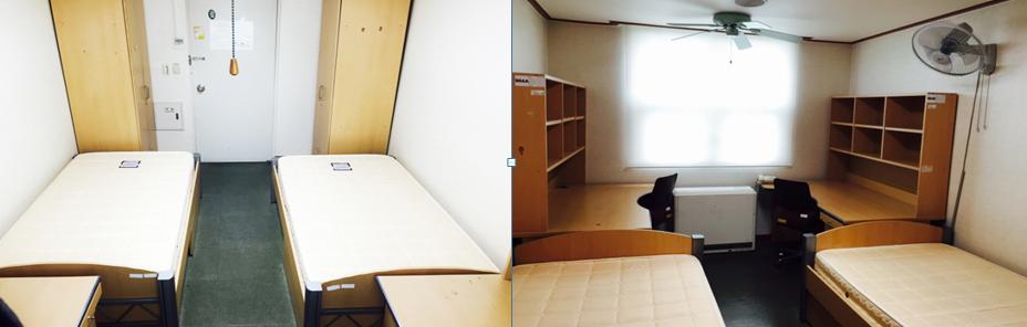 Phòng ký túc trường đại học Chosun Hàn Quốc