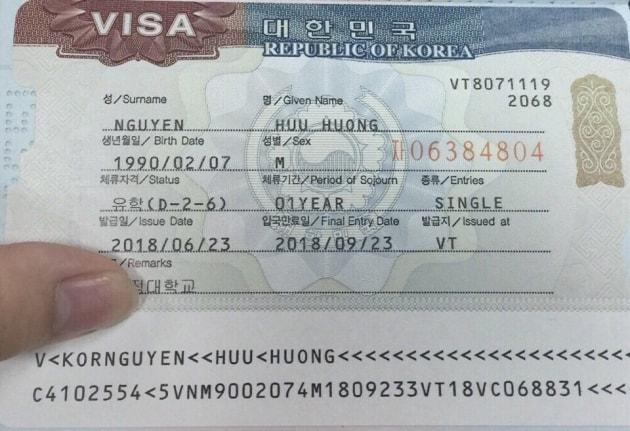 """Kết quả hình ảnh cho visa d2-6"""""""