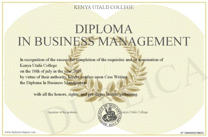 """Kết quả hình ảnh cho DIPLOMA IN BUSINESS MANAGEMENT"""""""