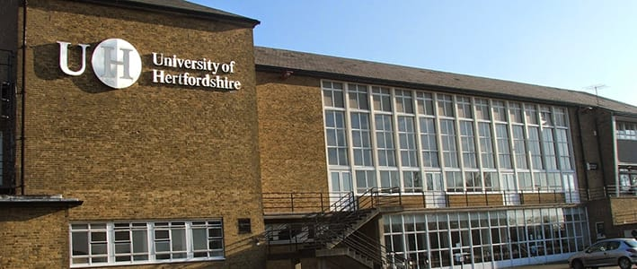 Kết quả hình ảnh cho University of Hertfordshire