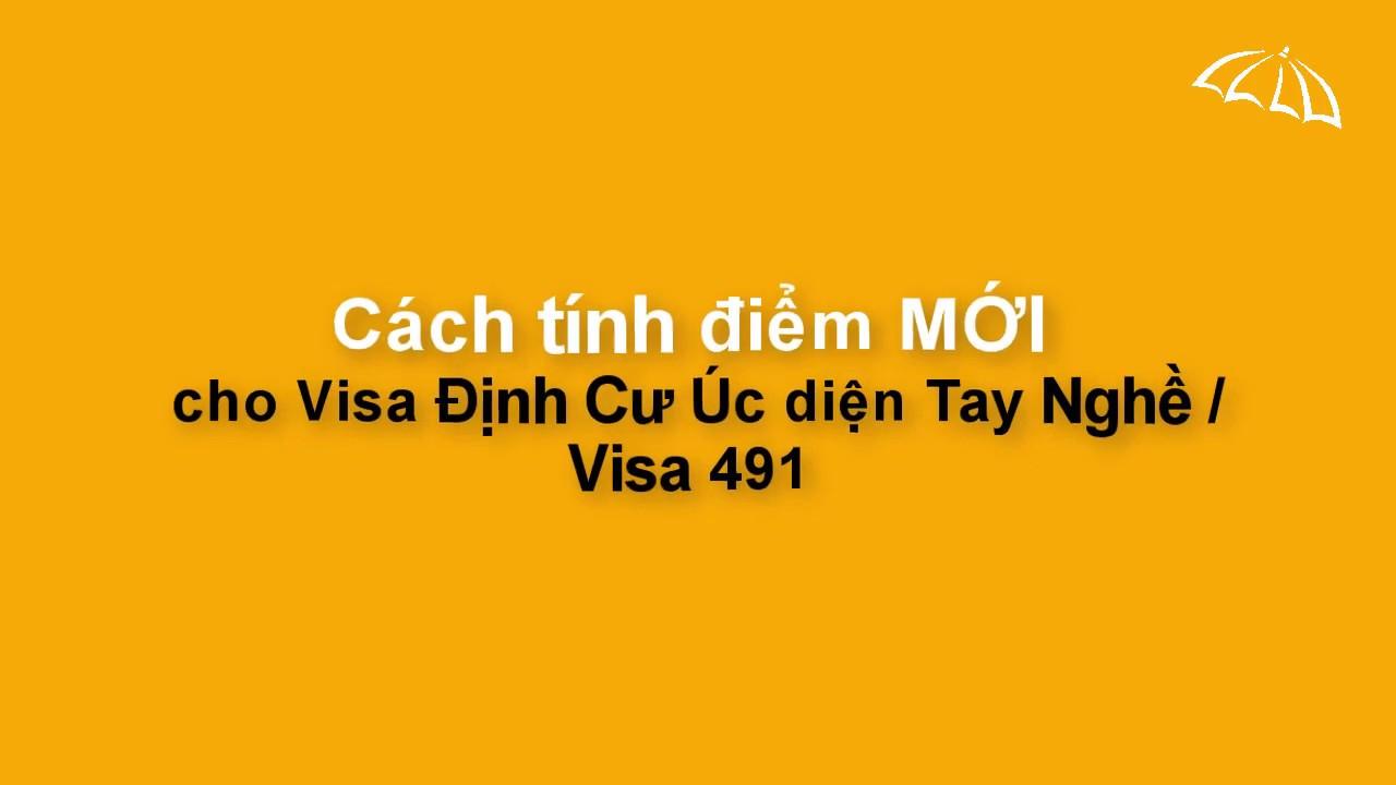 CÁCH TÍNH ĐIỂM MỚI cho Visa Tay Nghề Úc/ Visa 491 (THE NEW POINT ...