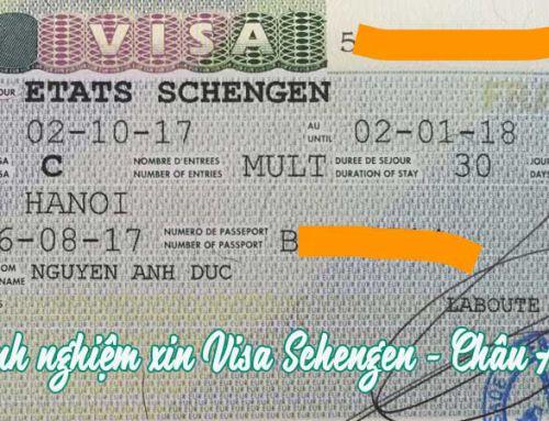Visa Schengen – Chiếc vé vàng trời Âu