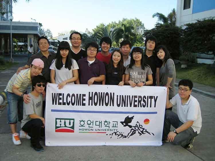 Sinh viên du học Hàn Quốc trường đại học Howon