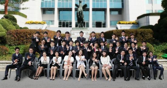 Sinh viên đang theo học tại trường đại học Kwangwoon