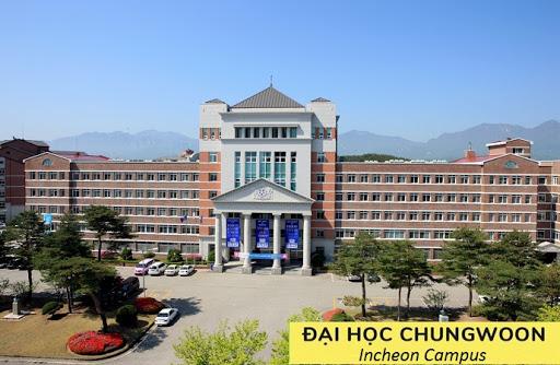 Đại học Chungwoon có khoa tiếng Việt - Trường ra code visa
